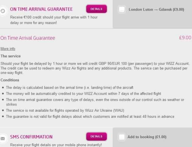 Wizz Air On Time Arrival Guarantee